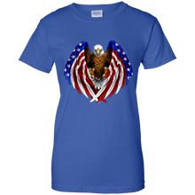 Load image into Gallery viewer, American Flag Eagle Wings T-Shirt