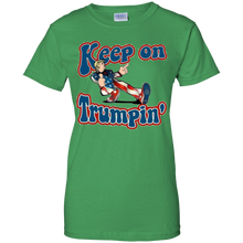Load image into Gallery viewer, Green Keep On Trumpin T-shirt