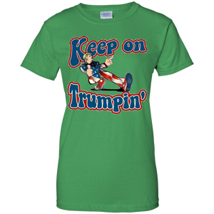 Green Keep On Trumpin T-shirt