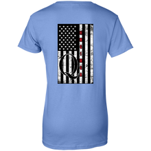 Load image into Gallery viewer, Blue Qanon WWG1WGA Flag Women's T-shirt