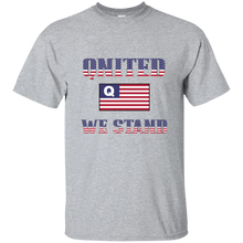 Load image into Gallery viewer, Grey Qnited We Stand Q/Qanon T-shirt