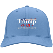 Load image into Gallery viewer, Light Blue Trump 2020 Keep America Great Hat
