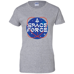 Grey Trump Space Force T-shirt