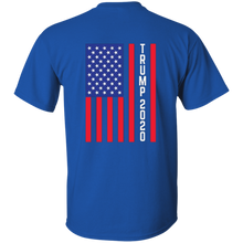 Load image into Gallery viewer, Royal Blue Trump 2020 Flag Men's T-shirt