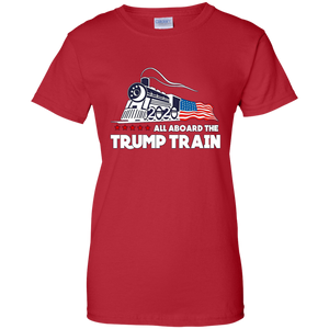 All Aboard The Trump Train Women's T-Shirt