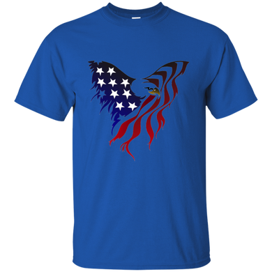 Royal Amercian Flag Eagle T-shirt