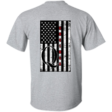 Load image into Gallery viewer, Grey Qanon WWG1WGA Flag Men's T-shirt