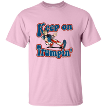 Load image into Gallery viewer, Light Pink Trump Keep On Trumpin Kids T-shirt