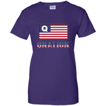 Load image into Gallery viewer, Purple Qnation Q/Qanon T-shirt