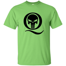 Load image into Gallery viewer, Lime Q Skull Q/Qanon T-shirt