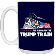 Load image into Gallery viewer, All Aboard The Trump Train Ceramic Mug