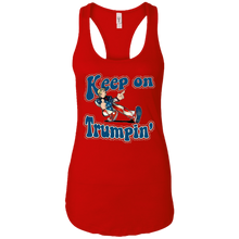 Load image into Gallery viewer, Red Keep On Trumpin Tank Top