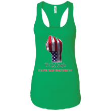 Load image into Gallery viewer, Green We The People Women's Tank Top
