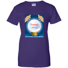 Load image into Gallery viewer, Purple Trump 2020 The Future Looks Bright T-shirt