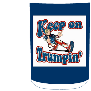 Navy Blue Trump Ceramic Mug