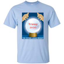Load image into Gallery viewer, Light Blue Trump 2020 The Future Looks Bright T-shirt