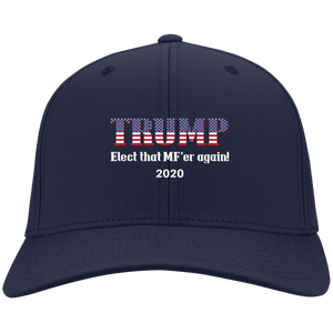 Navy Blue Trump Elect That MF'er Again 2020 Hat