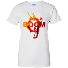 Load image into Gallery viewer, White Qanon Q Boom T-shirt