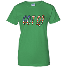 Load image into Gallery viewer, Green Got Q American Flag Q/Qanon T-shirt