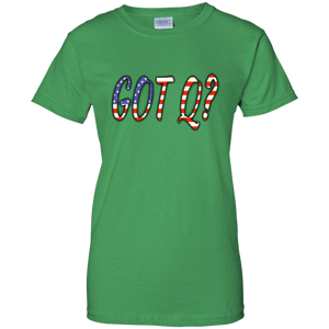 Green Got Q American Flag Q/Qanon T-shirt