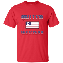 Load image into Gallery viewer, Red Qnited We Stand Q/Qanon T-shirt