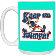 Load image into Gallery viewer, Teal Trump Ceramic Mug