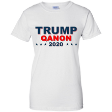 Load image into Gallery viewer, White Trump Qanon 2020 T-shirt
