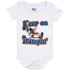 Trump Keep On Trumpin Onesie 6 month