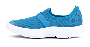 Women's OOmg Low Shoe White Teal