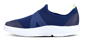 Men's OOmg Mesh Low Shoe White Navy