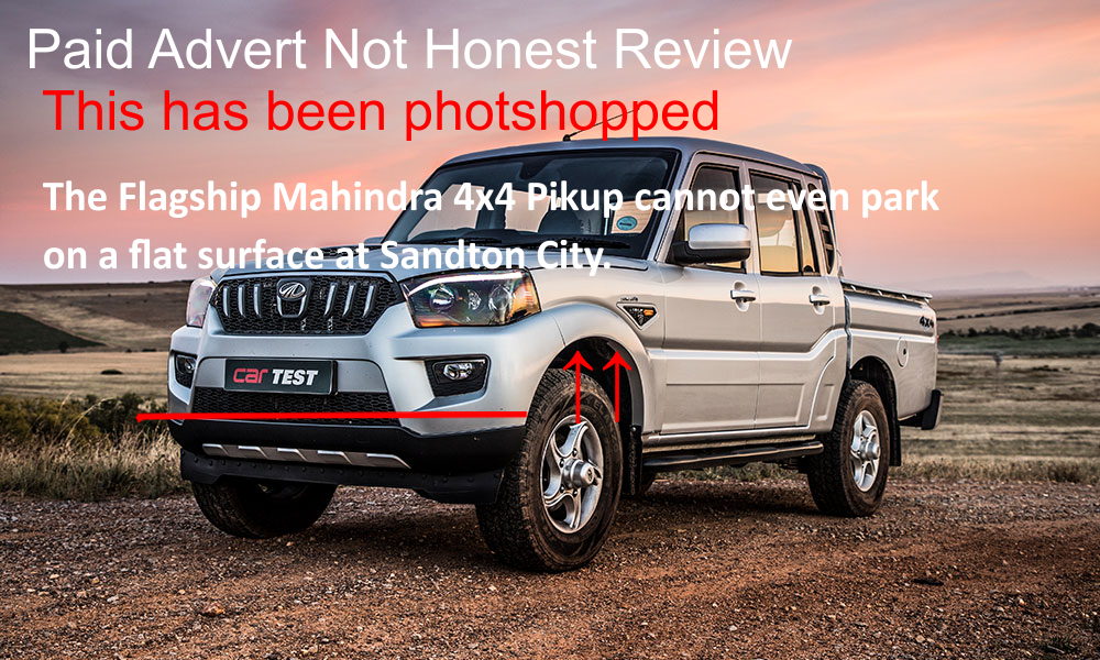 ROAD TEST: MAHINDRA PIK UP DC S10 4×4