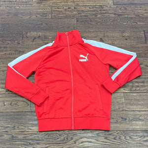 Puma Track Jacket - Red/White