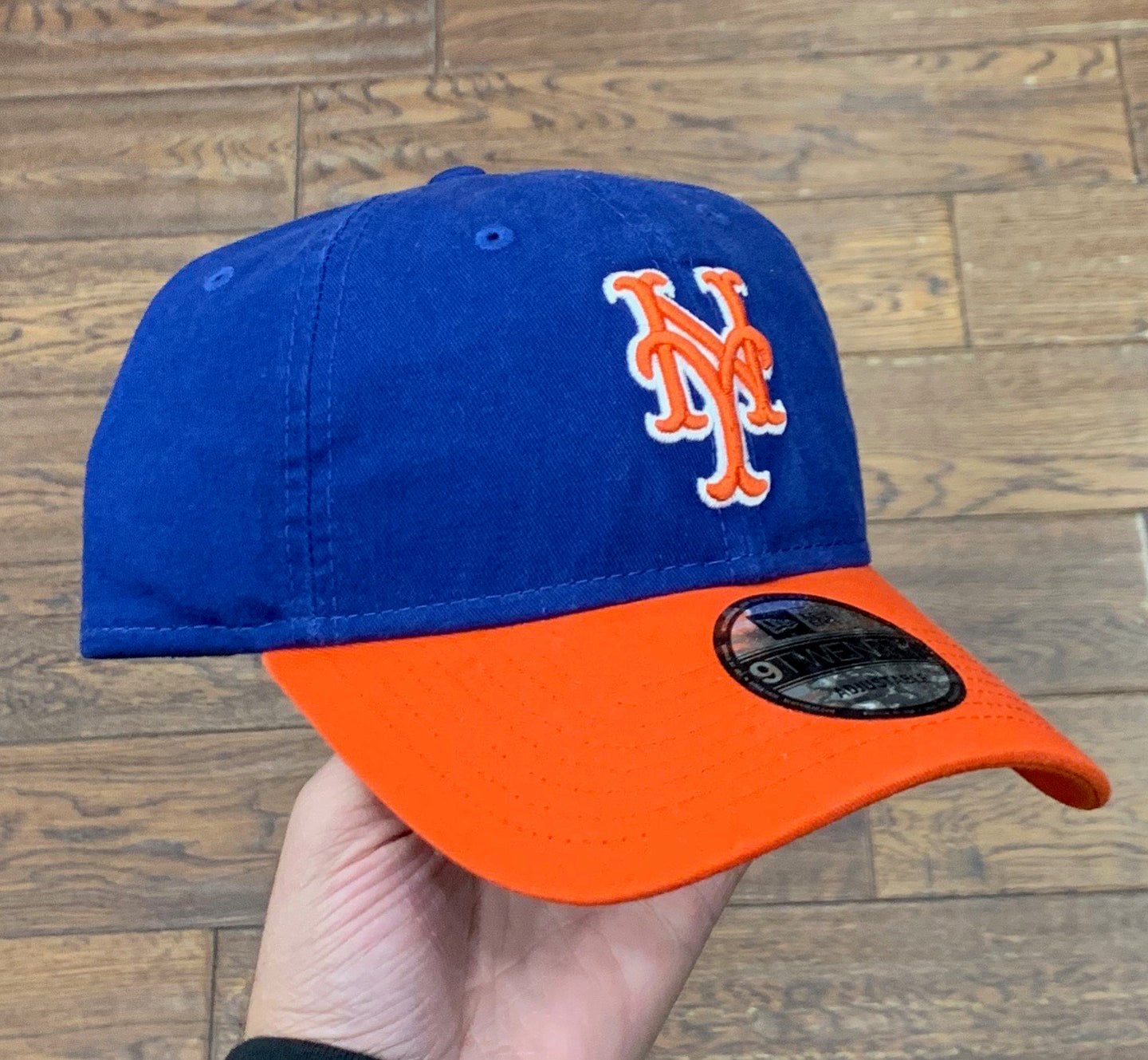 New York Mets Dad Hat - Blue