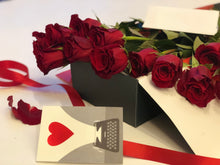Load image into Gallery viewer, One dozen premium rose in a box