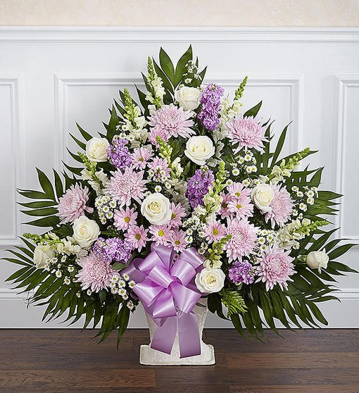 Heartfelt Tribute in Lavender