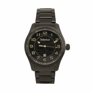 Black Steel 44mm Watch