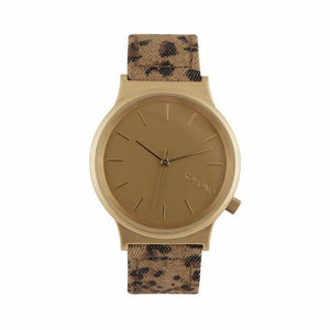 Gold Stainless Steel 37 mm Quartz Watch