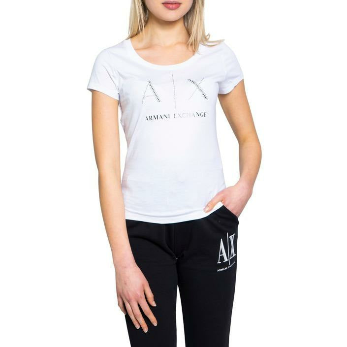 White Cotton T-Shirt with Round Neckline