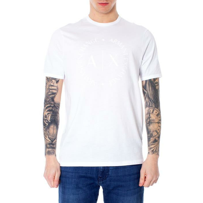 White Cotton T-Shirt with Plain Pattern