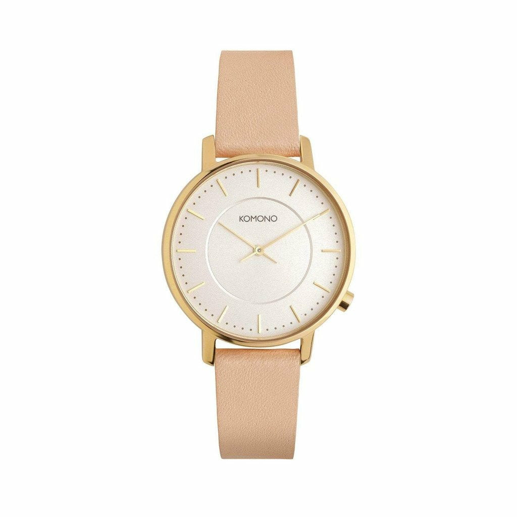 Gold Stainless Steel 36mm Quartz Watch