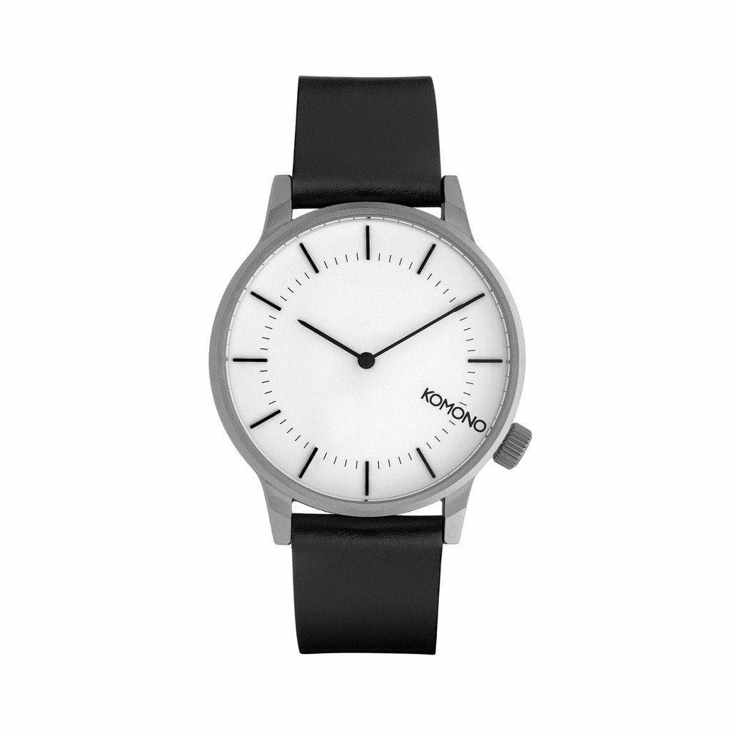 SilverStainless Steel 41mm Quartz Watch