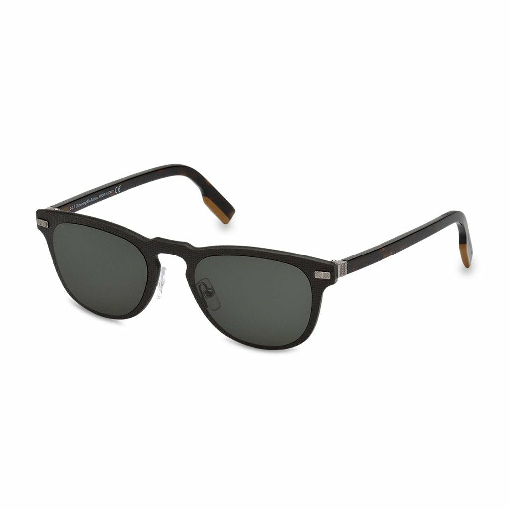Grey Sunglasses with Acetate Frame