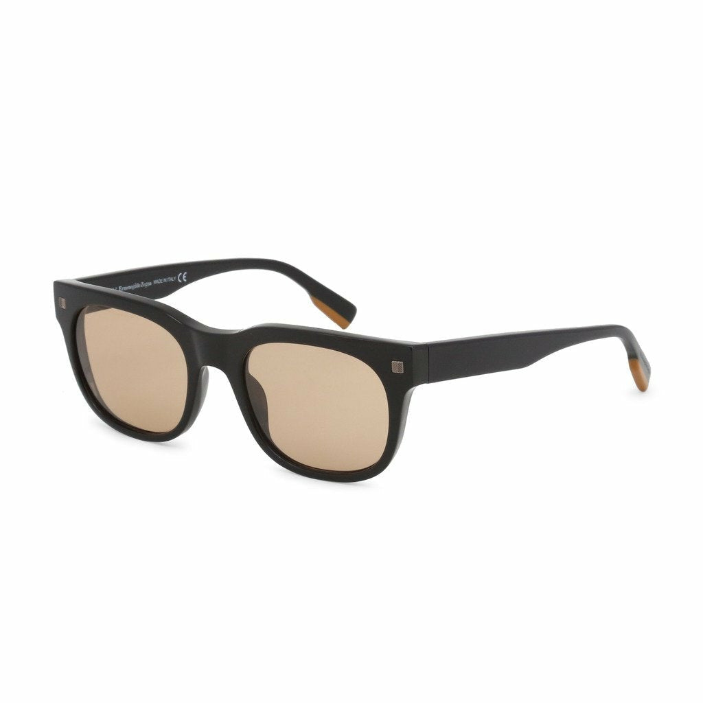 Black Sunglasses with Gradient Lenses