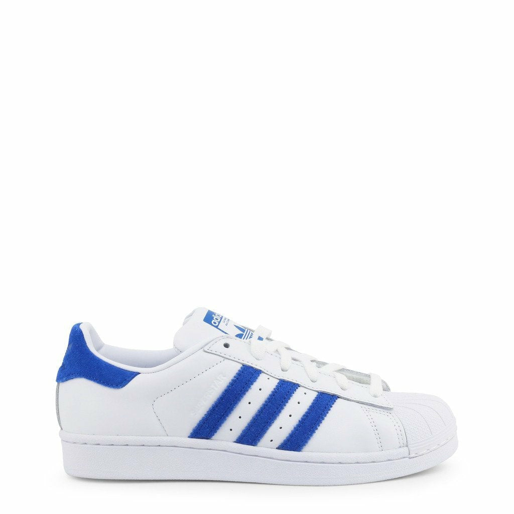 White Adidas Superstar Sneakers