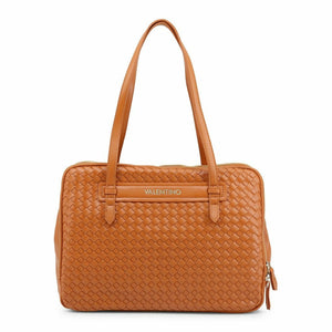 Brown Briefcase with Magnetic Fastening