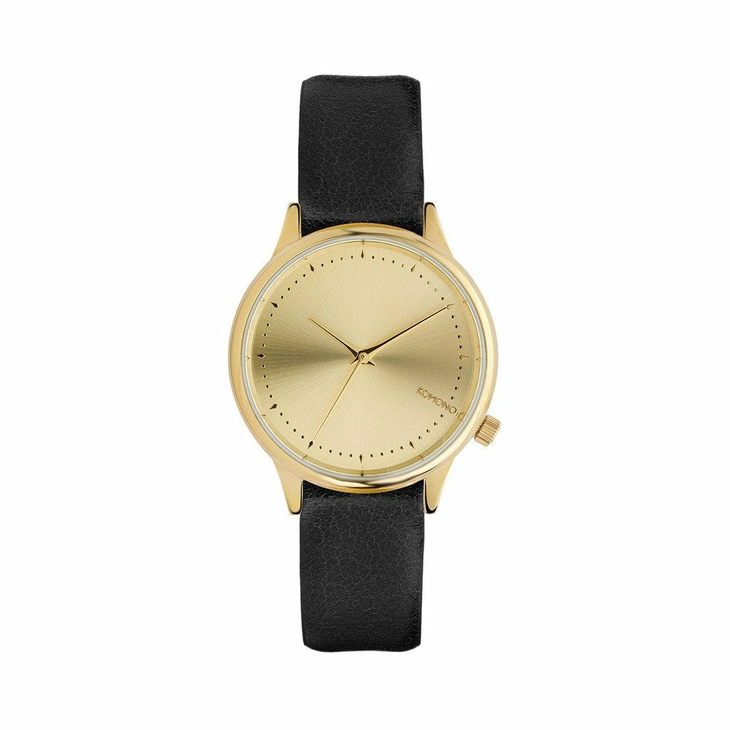 Gold Stainless Steel 35 mm Quartz Watch