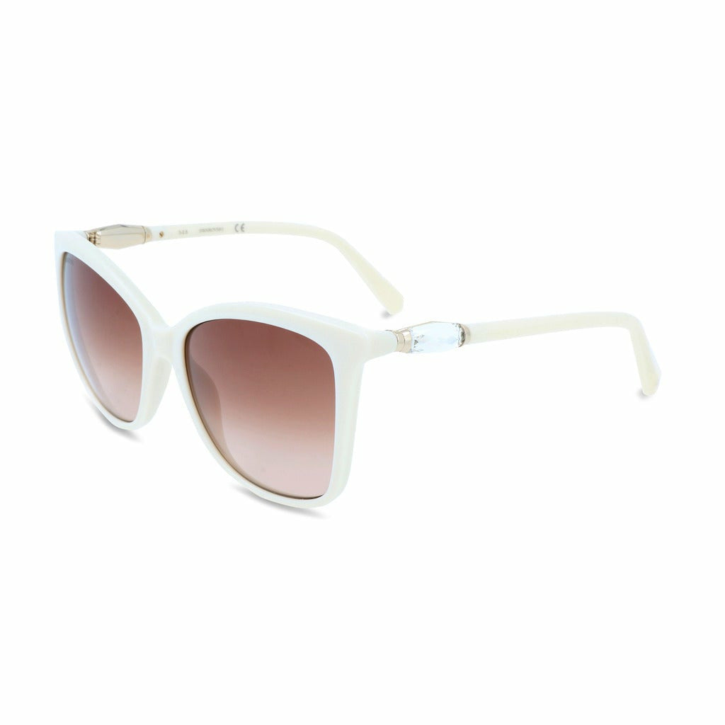 White Sunglasses with Acetate Frame