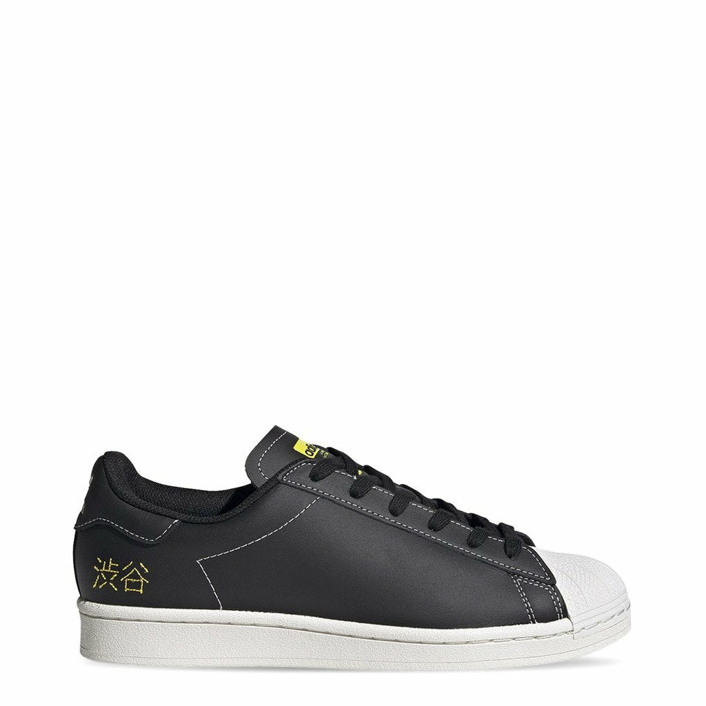 Black Adidas Superstar Pure Sneakers