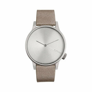 Silver Stainless Steel 41mm Quartz Watch