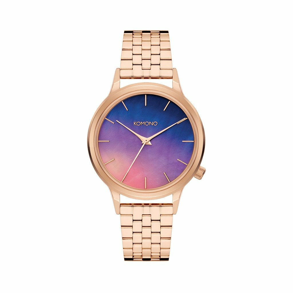 Pink Gold Stainless Steel 36 mm Quartz Watch